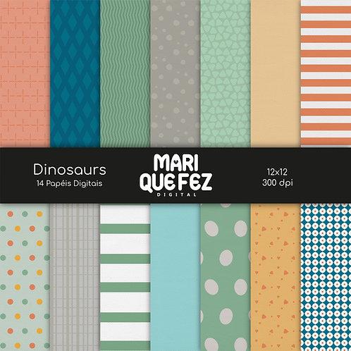 Dinosaurs Digital Paper