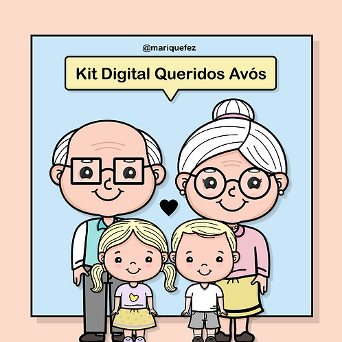 Kit Digital Queridos Avós