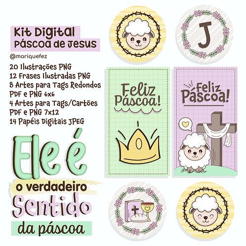 Kit Digital Páscoa De Jesus