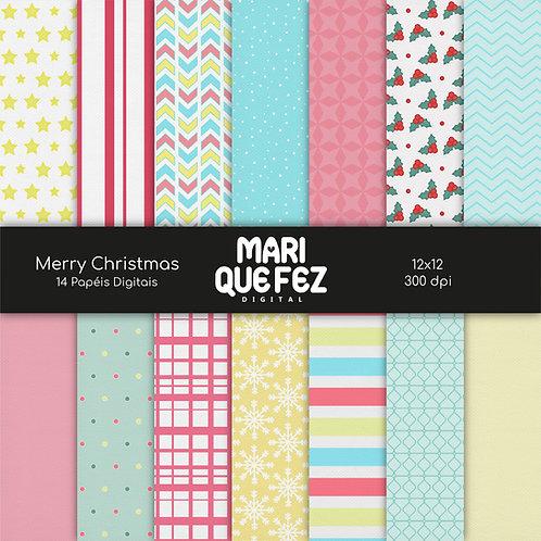 Merry Christmas Digital Paper