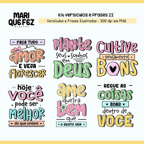 Kit Digital Versículos e Frases II