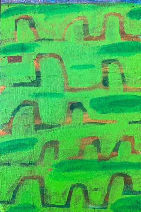 Landscape at Dusk (2021)