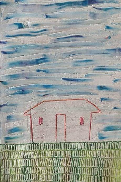 Red House, Green Grass, Blue Sky (2020)
