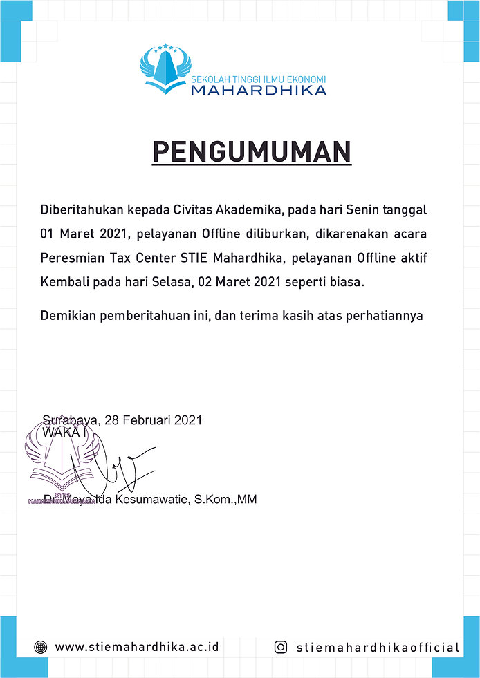 Pengumuman Libur Tax Center STIEM.jpg