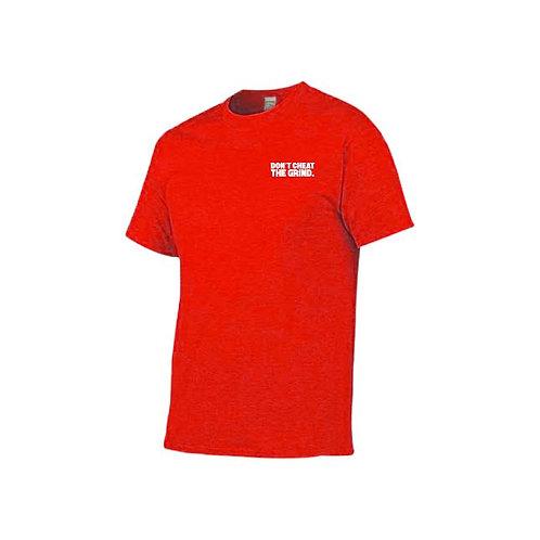 Dri Fit Logo Shirt-Red