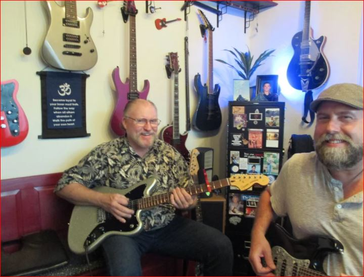 Guitar & Bass Lessons with Johnny Lightfoot Lightfoot Productions Rick Shupe