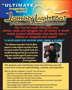 Guitar and Bass Lessons with Johnny Lightfoot Lightfoot Productions Ultimate Songwriters Toolkit bac