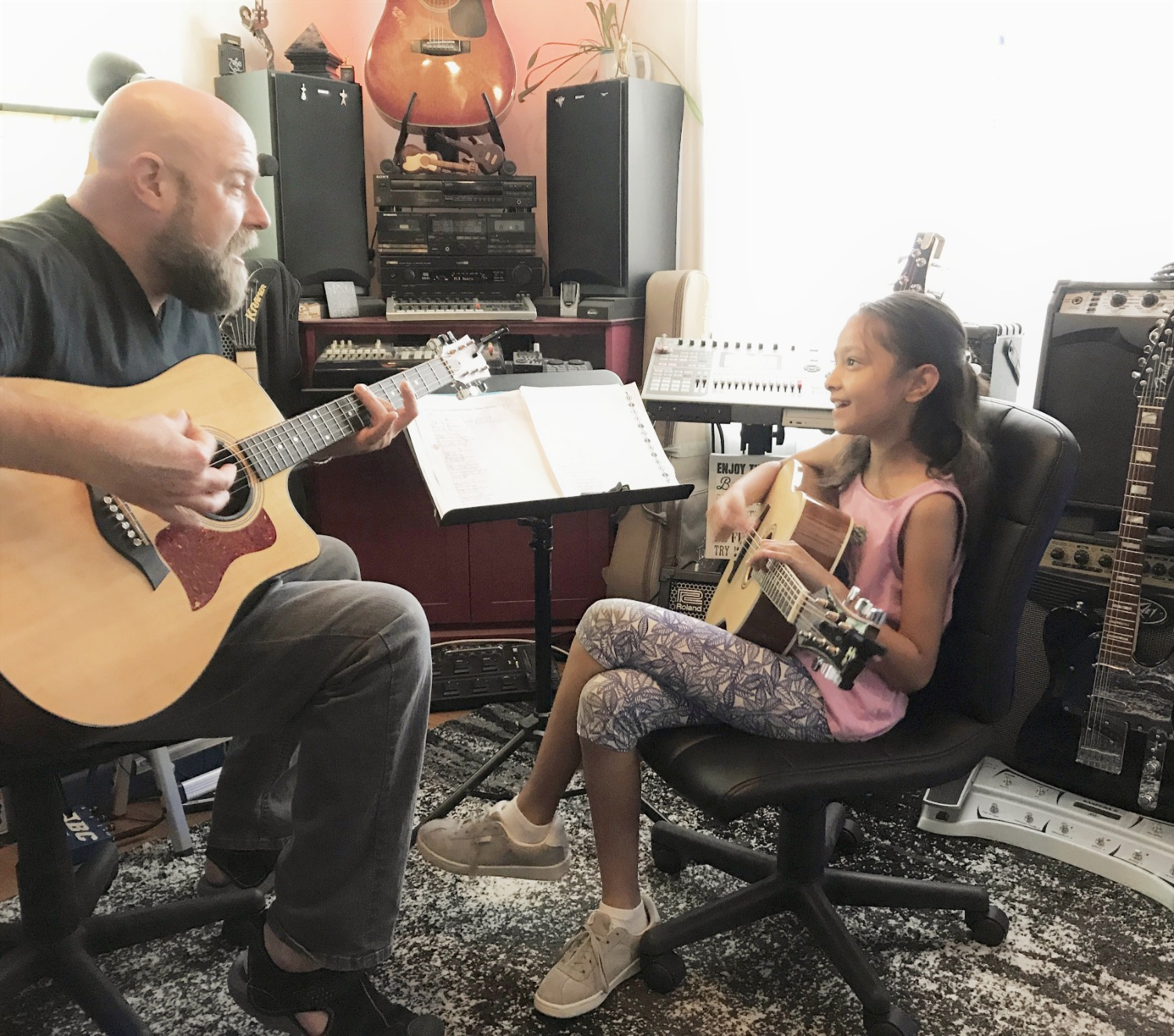 Guitar and Bass Lessons with Johnny Lightfoot Lightfoot Productions Anya_edited