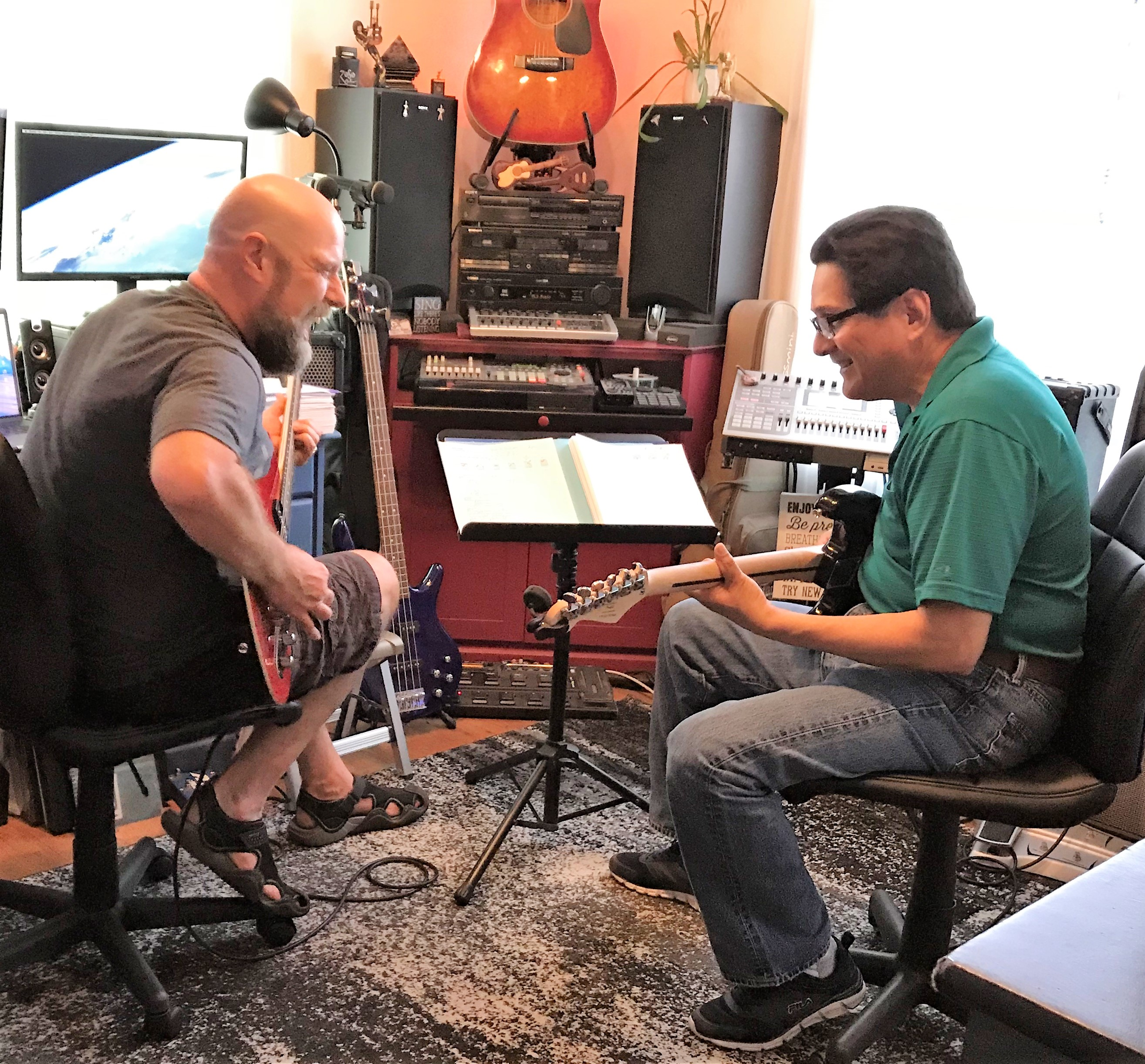 Guitar & Bass Lessons with Johnny Lightfoot Lightfoot Productions Humberto