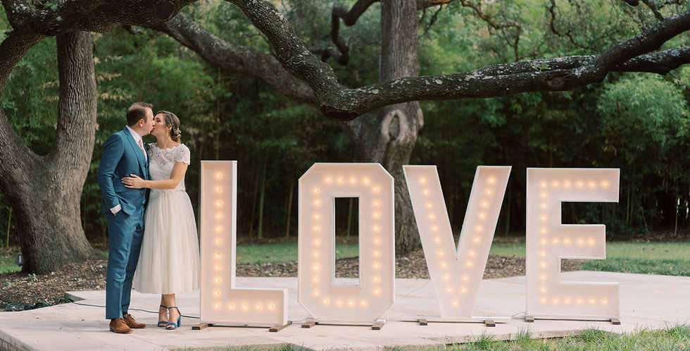 4' Marquee Letters + Numbers