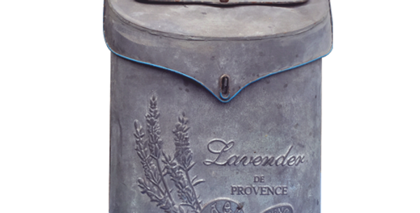 Lavender Mailbox