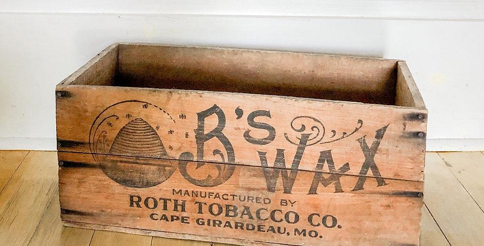 Bodie Vintage Wooden Crates
