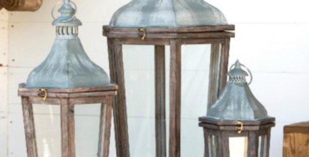 Meribel French Lanterns