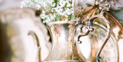 Tilden Antique Silver Teapots