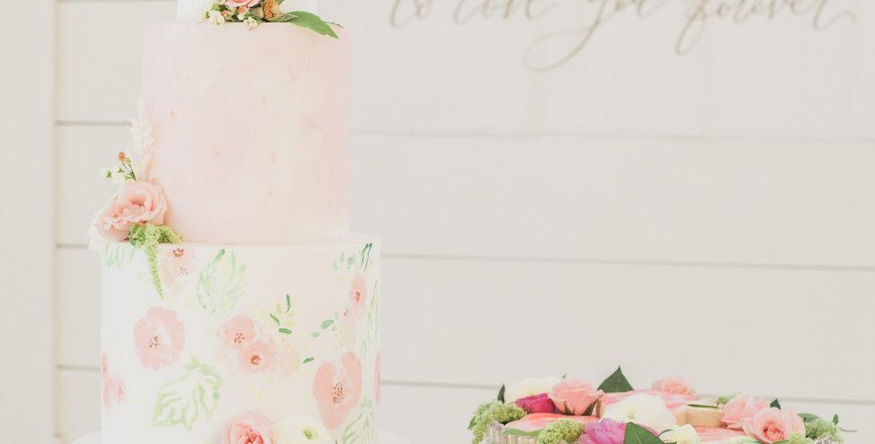 Wilhelmina Glass Cake Stands