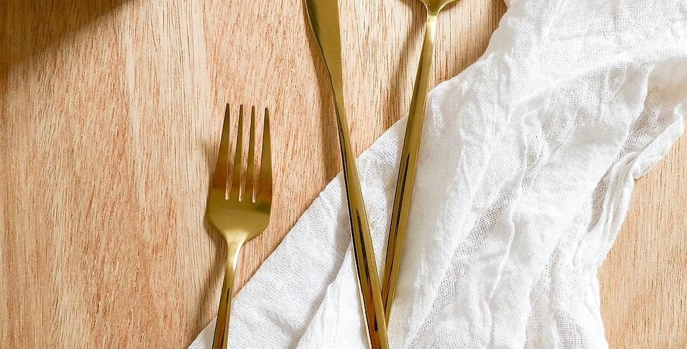 Rothko Gold Flatware