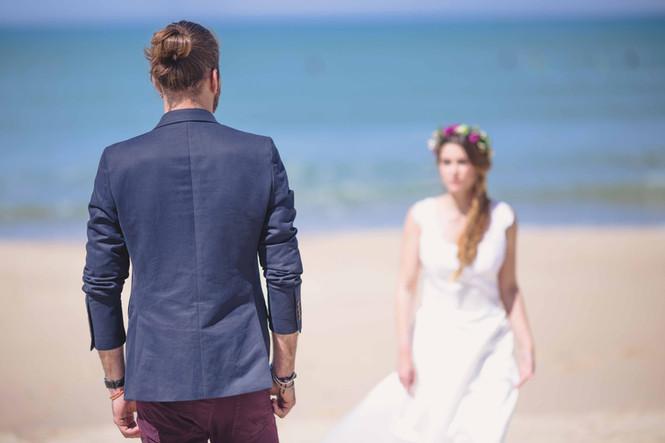 Mariage à la plage - Shooting d'inspiration