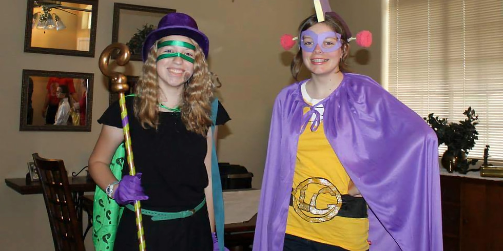 Costume Party & Games!