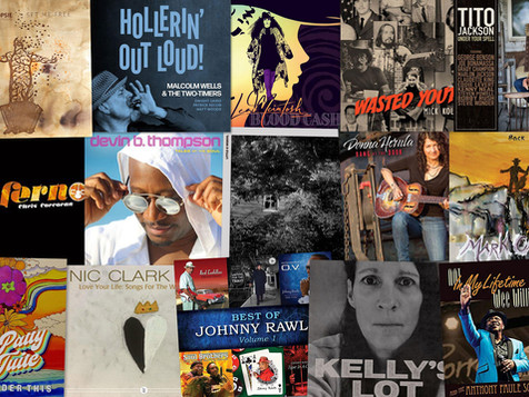 Marty Gunther's Red, Hot 'n Blues Music Reviews - September 2021