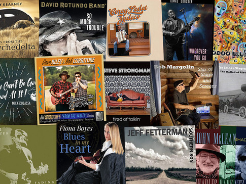 Marty Gunther's Red, Hot 'n Blues Music Reviews - February 2021