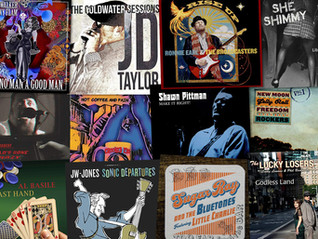 Marty Gunther's Red, Hot 'n Blues Music Reviews - October 2020