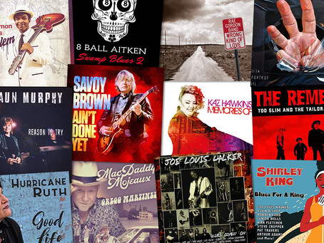 Marty Gunther's Red, Hot 'n Blues Music Reviews - April 2021