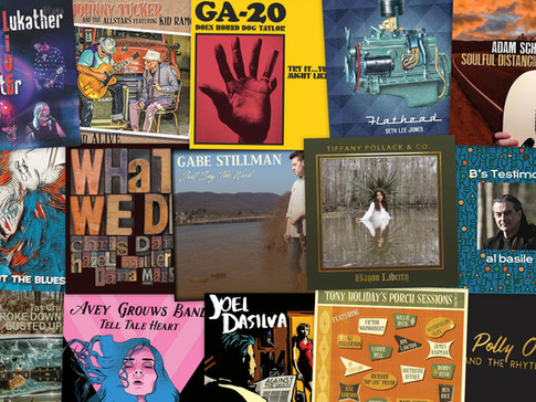 Marty Gunther's Red, Hot 'n Blues Music Reviews - October 2021