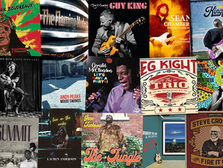 Marty Gunther's Red, Hot 'n Blues Music Reviews - August 2021