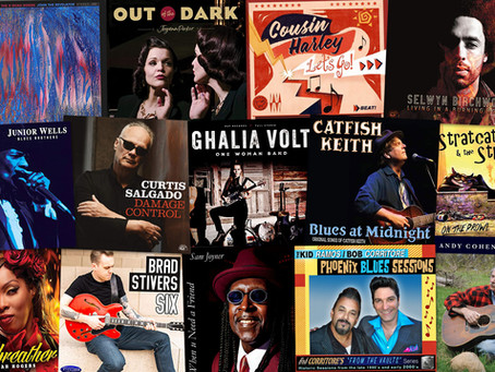 Marty Gunther's Red, Hot 'n Blues Music Reviews - March 2021