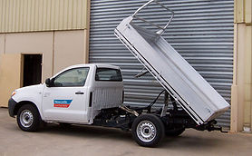 Tipper Hire at Newcastle Car and Truck Rental