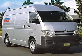 Van Hire at Newcastle Car and Truck Rental