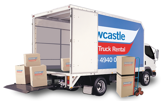 Self Move Truck Hire at Newcastle Car and Truck Rental