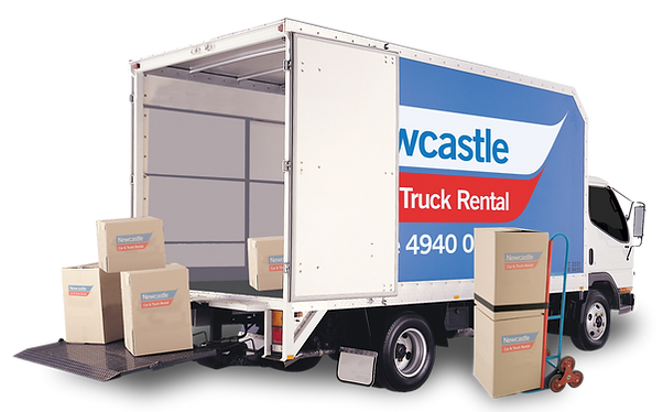 Moving Truck Hire at Newcastle Car and Truck Rental