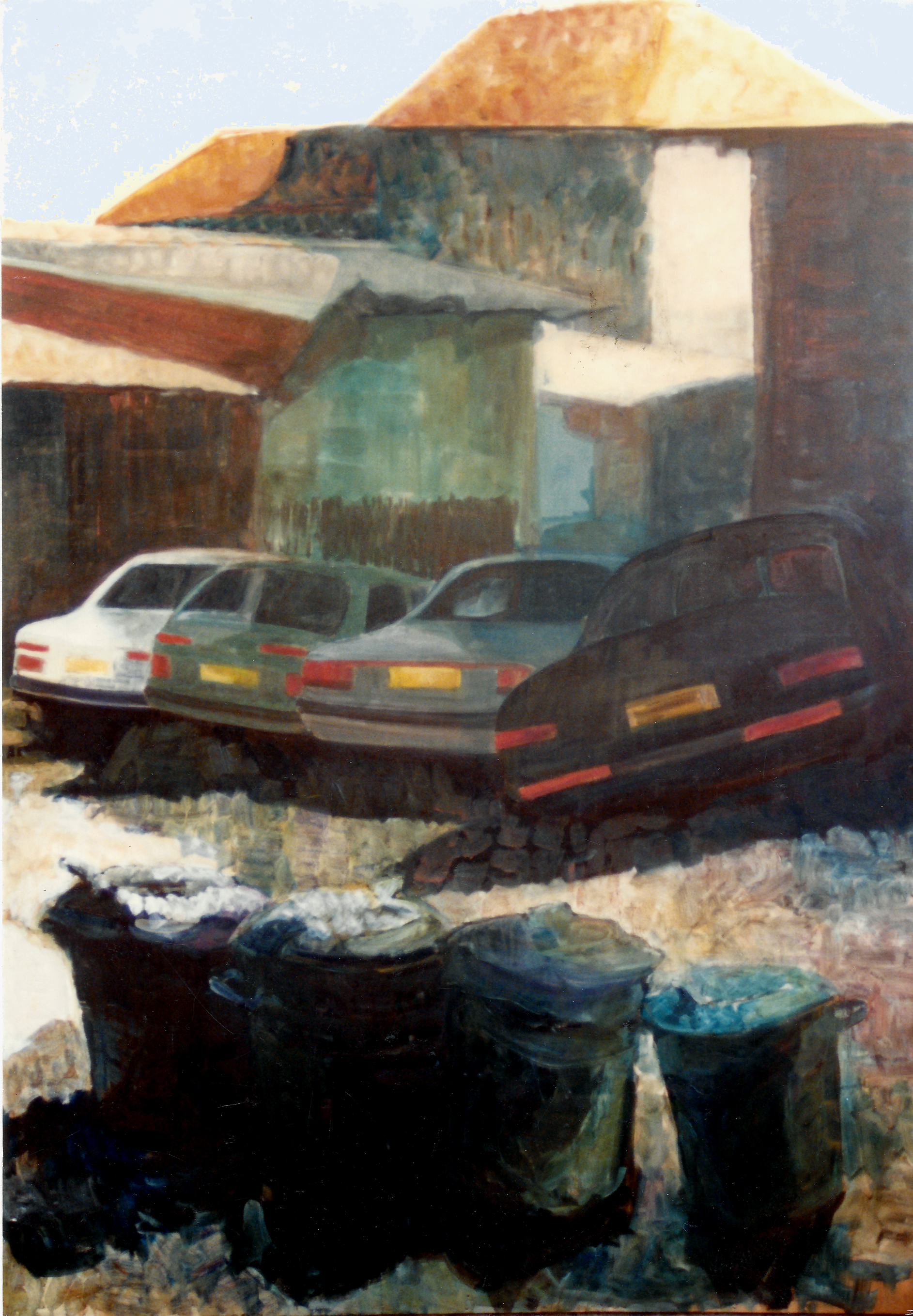 Trash, Cars, Buildings - 1991