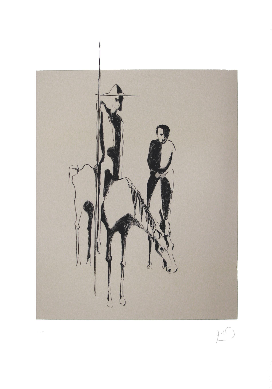Don Quijote y Sancho Panza - 1991