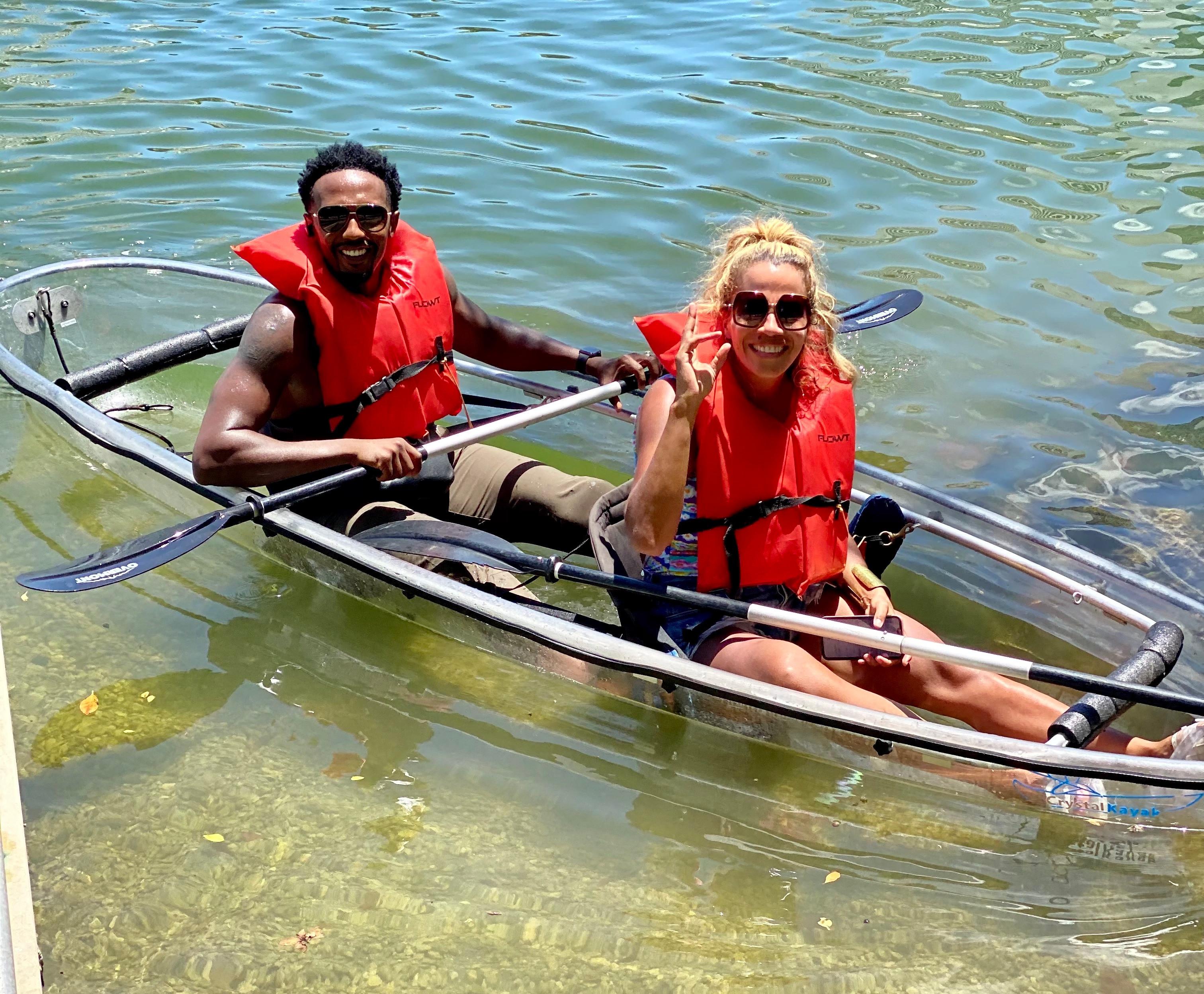 Clear Kayak Rental (Double) - 1 Hr