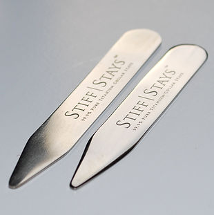 Titanium collar stays
