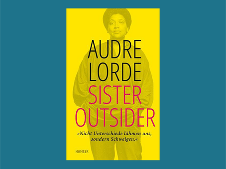 """""""Sister Outsider"""" von Audre Lorde"""