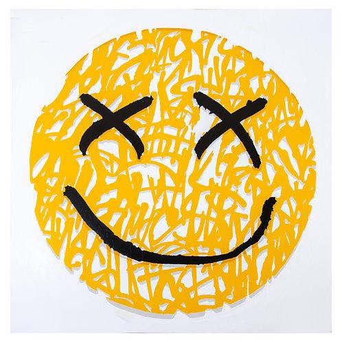Happy Face 20x20in Fine Art Print