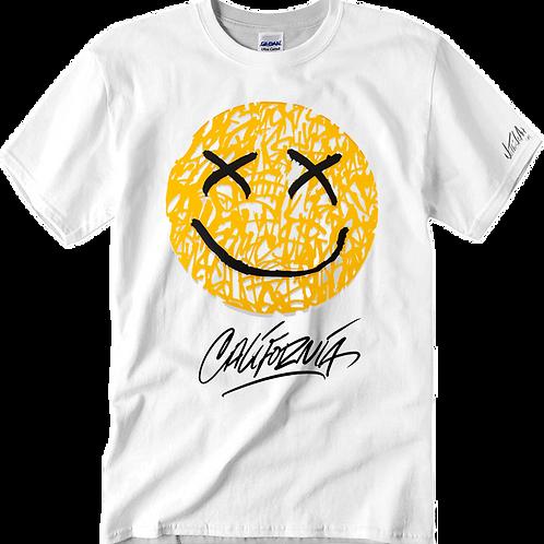 California Smile T-shirt size Large
