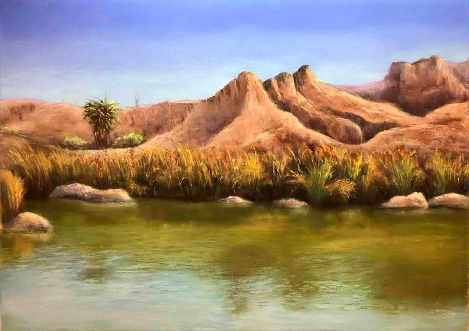 Desert's reflexion