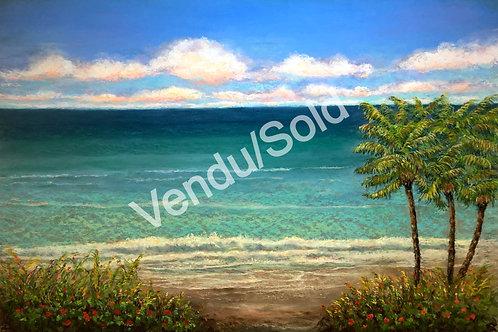 Un amour grand comme le ciel et la mer  ****VENDU*** SOLD***