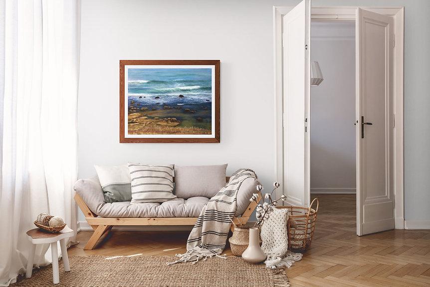Califrornie bleue décor
