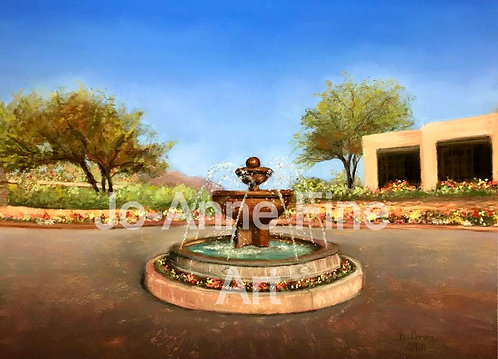 Fountain at Camelback