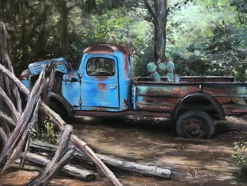 Mémoire d'un vieux camion