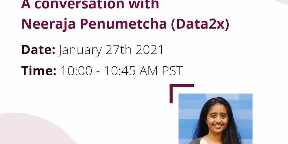 A conversation with Neeraja Penumetcha from Data2x