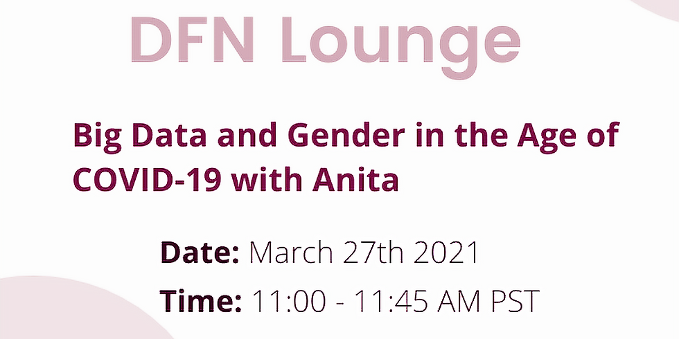 Big Data and Gender in the Age of COVID-19