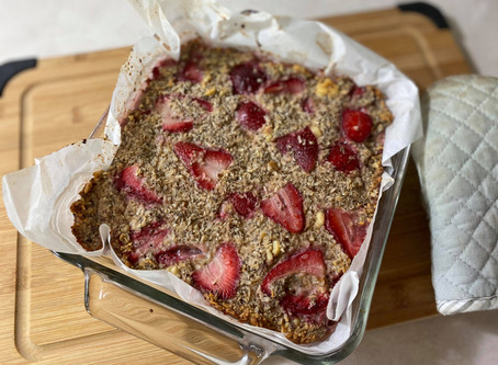 Strawberry Breakfast Bake {HOP Official}
