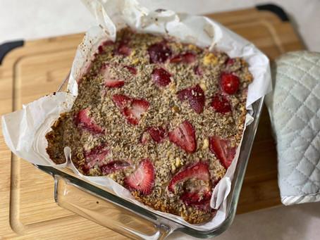 Strawberry Breakfast Bake {HOP Official}