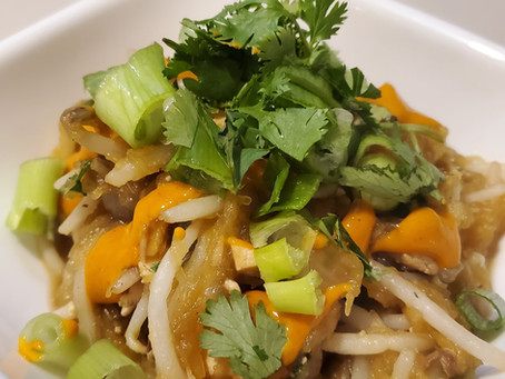 Spaghetti Squash Pad Thai {HOP Official}
